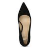 Černé dámské lodičky z broušené kůže bata, černá, 623-6605 - 17