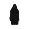 Černé dámské lodičky z broušené kůže bata, černá, 623-6605 - 15