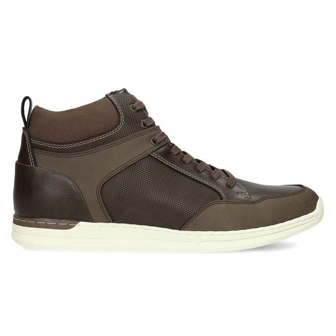 Hnědá pánská kotníčková obuv bata-red-label, hnědá, 841-4783 - 19