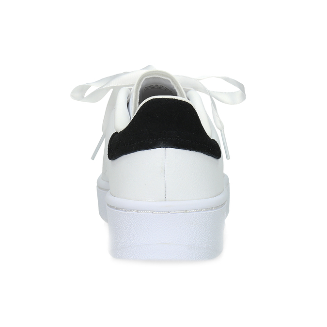 Dámské bílé ležérní tenisky s perforací adidas, bílá, 501-1231 - 15