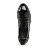 Černé lakované polobotky dámské bata, černá, 521-6601 - 17