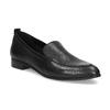 Černé dámské mokasíny kožené bata, černá, 534-6601 - 13