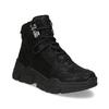 Kotníkové tenisky v městském stylu bata-light, černá, 691-6606 - 13