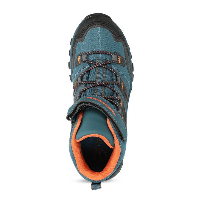 Modrá dětská kotníčková Outdoor obuv weinbrenner, modrá, 419-9621 - 17