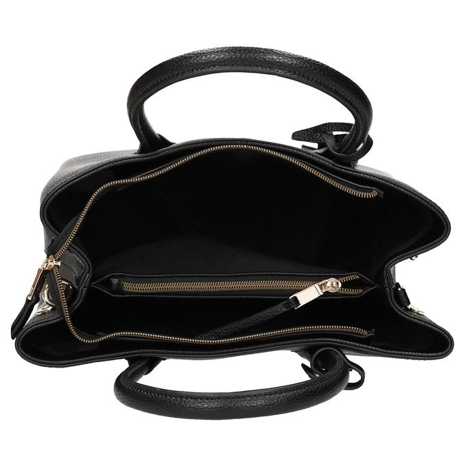 Černá dámská kabelka s popruhem bata, černá, 961-6970 - 15