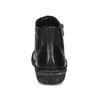 Černé dámské kotníčkové kožené kozačky bata, černá, 594-6624 - 15