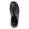 Černé dámské kotníčkové kožené kozačky bata, černá, 594-6624 - 17