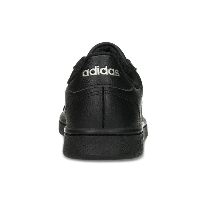 Dámské černé tenisky se stříbrnými detaily adidas, černá, 501-6221 - 15