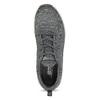 Šedé dámské tenisky s úpletem skechers, šedá, 509-2122 - 17
