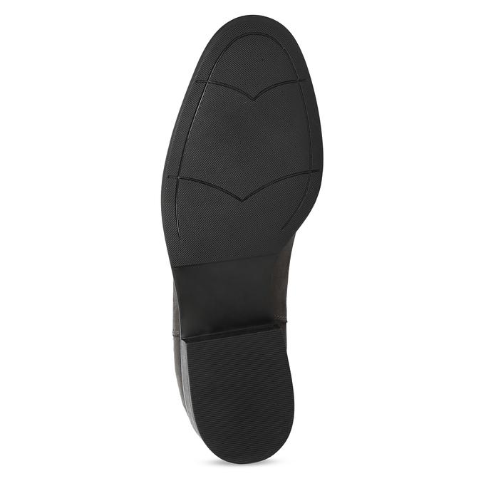 Černá kotníčková kožená obuv v Chelsea stylu bata, černá, 596-6609 - 18