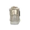 Zlaté kožené dětské tenisky se zateplením mini-b, zlatá, 423-8611 - 15