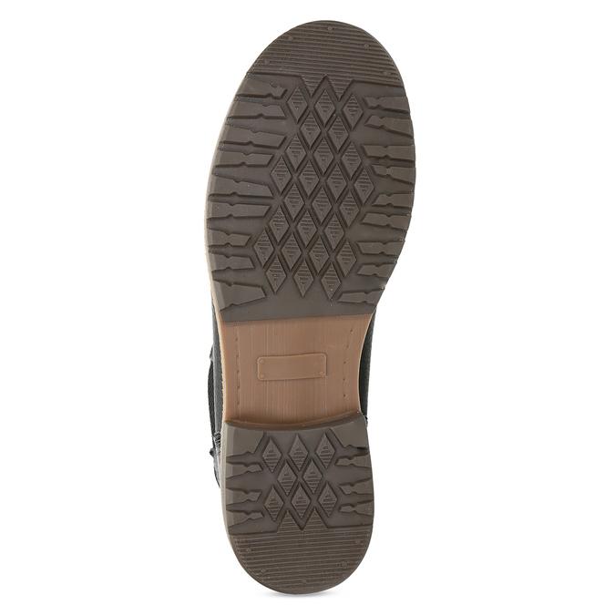 Dámská černá kožená Chelsea obuv bata, černá, 594-6621 - 18
