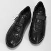 Pánská kožená obuv na suchý zip bata, černá, 824-6666 - 16
