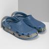 Modré pánské sandály typu Clogs coqui, modrá, 872-9618 - 26