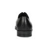 Černé pánské kožené Derby polobotky bata, černá, 824-6920 - 15