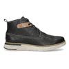 Černá kožená pánská kotníčková obuv weinbrenner, černá, 844-6638 - 19