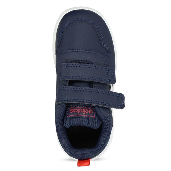 Modré dětské tenisky na suché zipy adidas, modrá, 101-9291 - 17