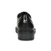 Kožené dámské polobotky s kovovými cvoky flexible, černá, 524-6601 - 15
