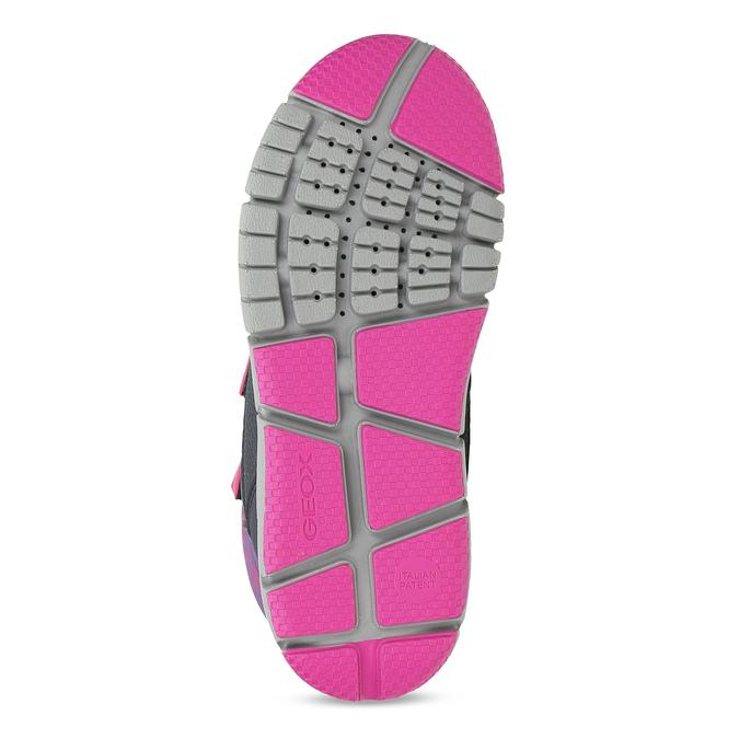 Dětská zimní obuv s růžovými detaily geox, modrá, 399-9314 - 18