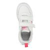 Bílé dětské tenisky na suché zipy adidas, bílá, 301-1270 - 17