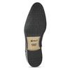 Černá pánská kožená kotníčková obuv conhpol, černá, 894-6603 - 18