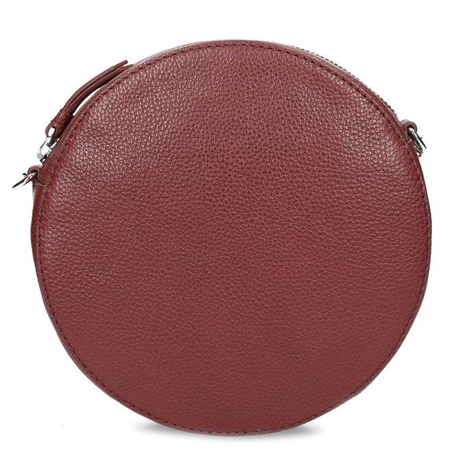 Dámská kulatá crossbody kabelka bata, červená, 964-5628 - 26