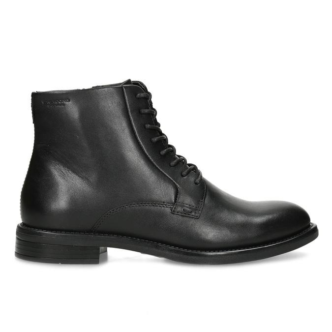 Černá kožená dámská kotníčková obuv vagabond, černá, 524-6106 - 19