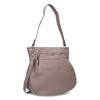 Růžová dámská kabelka s popruhem gabor, růžová, 961-5110 - 13