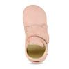 Růžová dětská kožená kotníčková obuv froddo, růžová, 124-5605 - 17