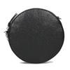 Kulatá černá Crossbody kabelka s řetízkem bata, černá, 964-4628 - 26