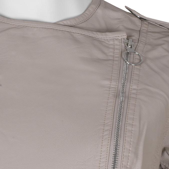 Růžová dámská bunda ve stylu křiváku bata, růžová, 971-5248 - 16