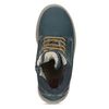 Dětské modré kožené Worker Boots weinbrenner, modrá, 296-9604 - 17