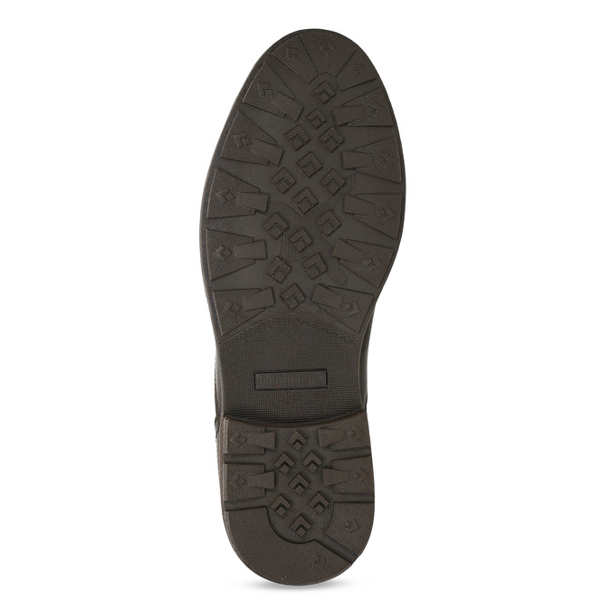 Kožená pánská kotníčková Chelsea obuv pikolinos, hnědá, 896-4816 - 18
