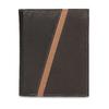 Pánská hnědá kožená peněženka bata, hnědá, 944-4625 - 26