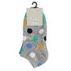Sada dětských kotníčkových ponožek bata, šedá, 919-9800 - 13