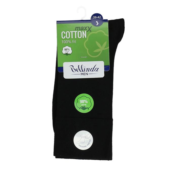 Černé pánské bavlněné ponožky bellinda, černá, 919-6714 - 13