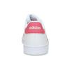 Bílé dětské tenisky s růžovými detaily adidas, bílá, 401-1447 - 15