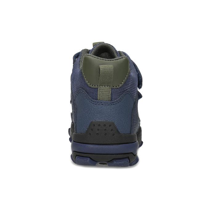 Modrá dětská kotníčková zimní obuv geox, modrá, 311-9177 - 15