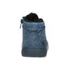 Modrá dětská kotníčková obuv se zateplením bubblegummers, modrá, 191-9603 - 15