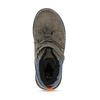 Hnědá kožená chlapecká zimní obuv mini-b, šedá, 291-4631 - 17