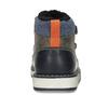 Hnědá kožená chlapecká zimní obuv mini-b, šedá, 291-4631 - 15