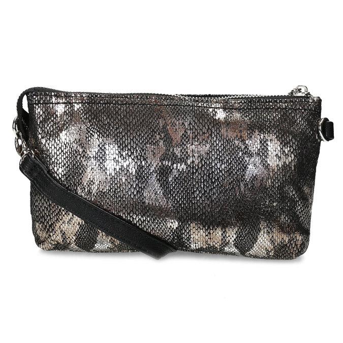 Dámská Crossbody kabelka s hadím vzorem gabor, stříbrná, 969-1103 - 16
