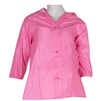 Růžová pláštěnka s kapucí bata, růžová, 971-5600 - 13