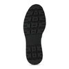 Kožené dámské kozačky na masivní podešvi bata, černá, 596-6610 - 18