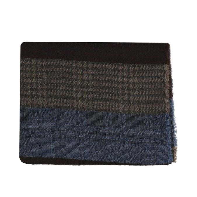 Pánská šála v přírodních odstínech bata, vícebarevné, 909-0764 - 13