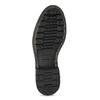 Pánská hnědá kožená kotníčková obuv bata, hnědá, 896-3767 - 18