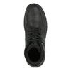 Pánská černá kožená zimní obuv bata, černá, 896-6753 - 17