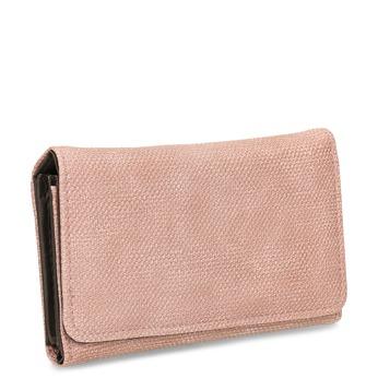 Růžová dámská peněženka bata, růžová, 941-5617 - 13
