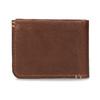 Pánská hnědá kožená peněženka bata, hnědá, 944-3214 - 16