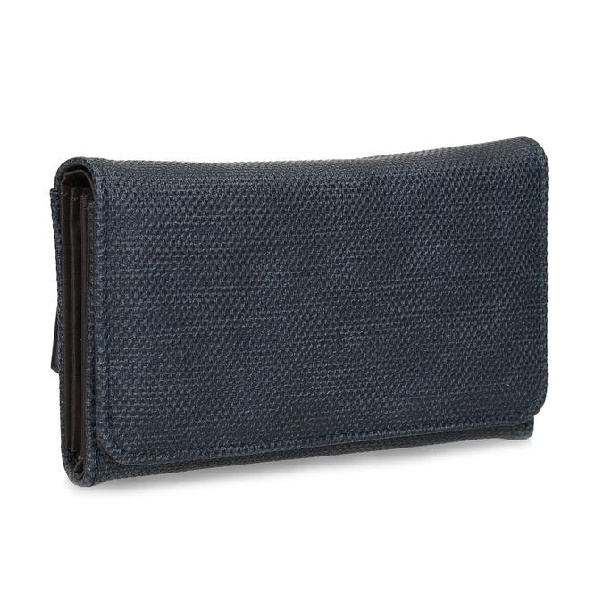 Modrá dámská peněženka bata, modrá, 941-9617 - 13